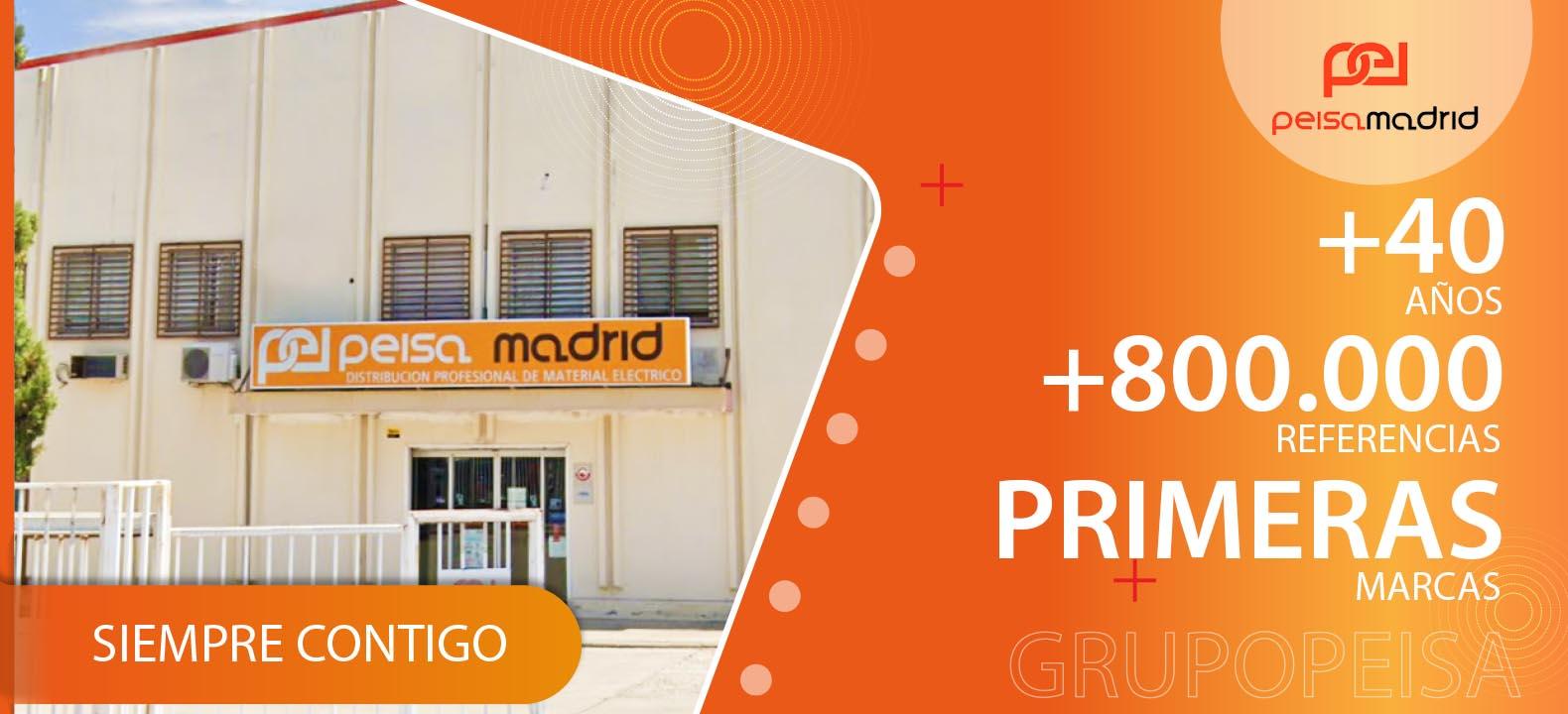 Almacén Distribuidor de Material Eléctrico Madrid