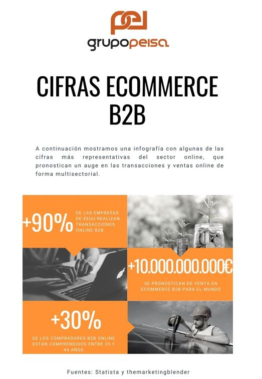 Cifras de negocio Ecommerce B2B