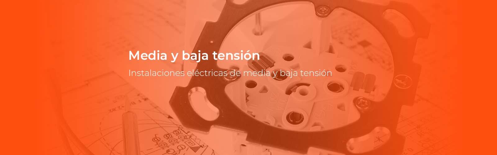 Material eléctrico de media y baja tensión