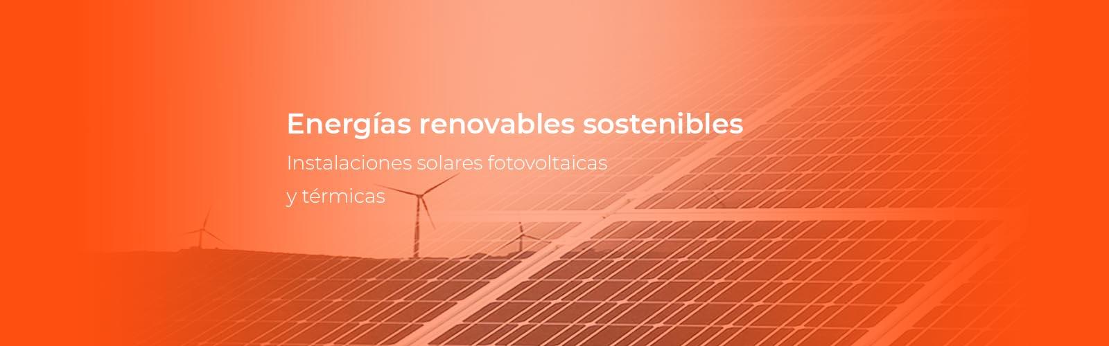 material eléctrico para instalaciones renovables