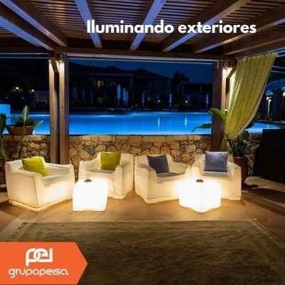 Iluminación profesional de exteriores